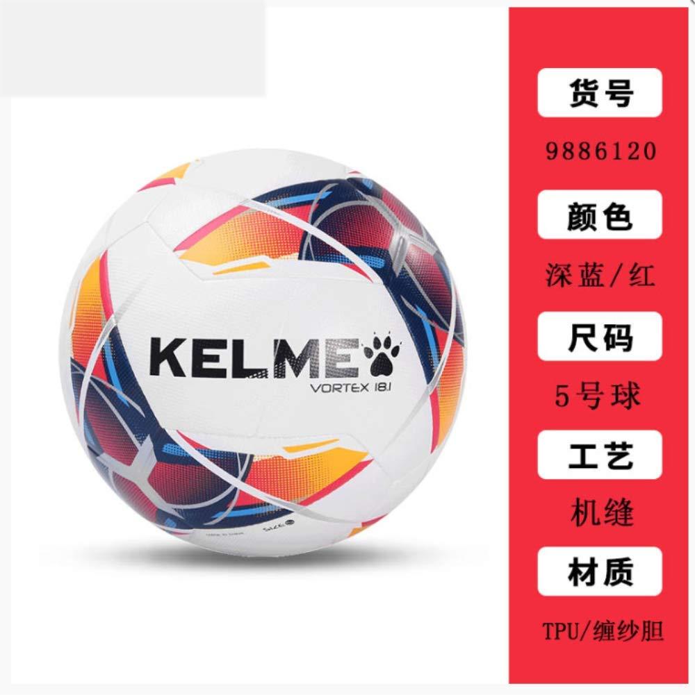 zuq - Balón de fútbol para niños y Adultos, 5 Pelotas, Color Azul ...
