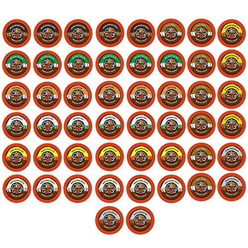 50-count Crazy Cups Seasonal Premium Hot Chocolate Single Serve Cups for Keurig K Cup Brewers Variety Pack Sampler (Hot Cocoa Keurig K Cups compare prices)