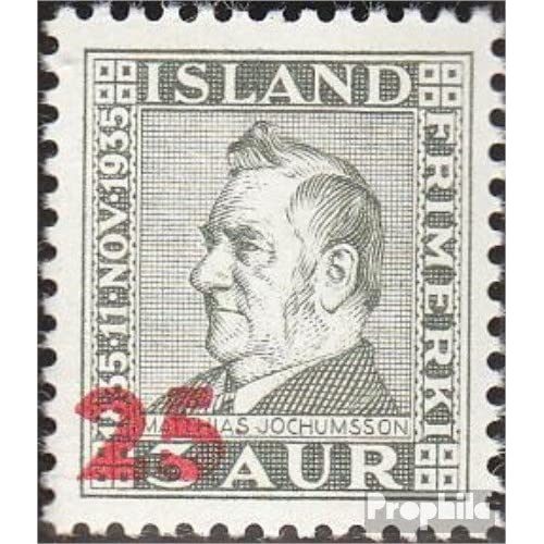 Islande 222 (complète.Edition.) 1941 m. Jochumsson (Timbres pour les collectionneurs)