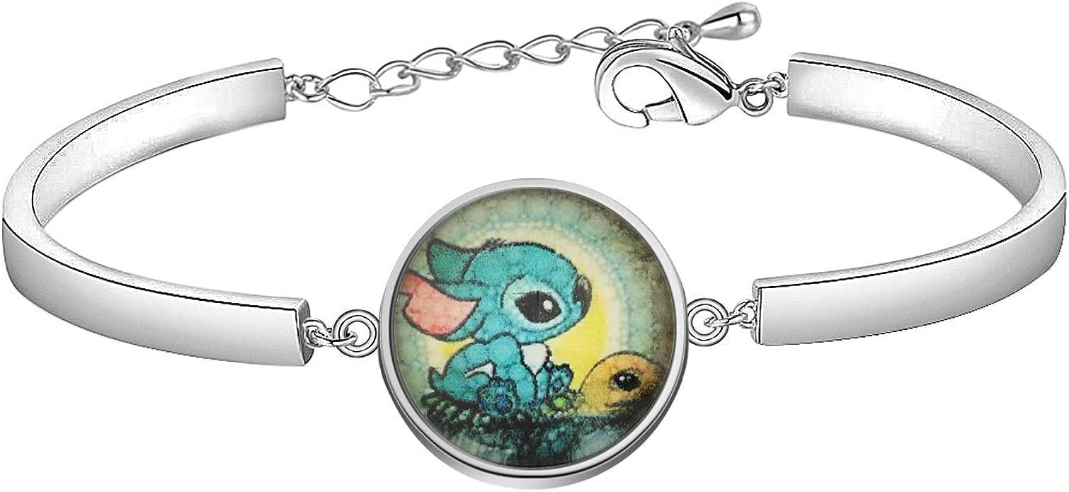 Lot cartoon stitch New blue Charm Pendants DIY Jewelry Making Accessories gifts