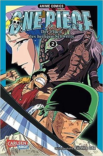 One Piece Fluch Des Heiligen Schwerts 2 Anime Comics Amazonde Eiichiro Oda Jump Bucher