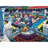 Bits and Pieces - 1000 Piece Murder Mystery Puzzle - Murder at the Museum by Artist Gene Dieckhoner - Solve the Mystery - 1000 pc Jigsaw