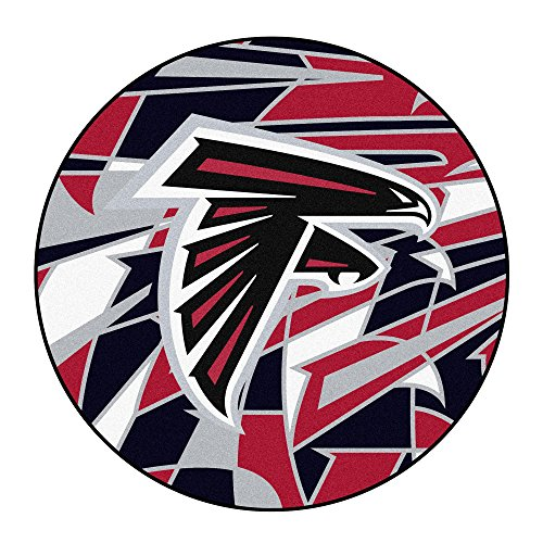 Falcons NFL-Atlanta Falconsroundel Mat, Team Color, One Size ()