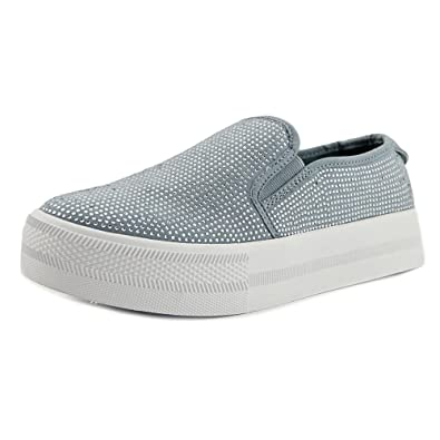 64cf9c7d220c7 G by Guess Womens Cherita Fabric Low Top Slip On Fashion Sneakers