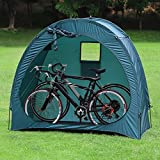 YP Outdoor Weatherproof Garage Shed Bicycle Tent Space Saver for Camping,Backyards,Tours - Bike Shed Portable Bike Storage Tent