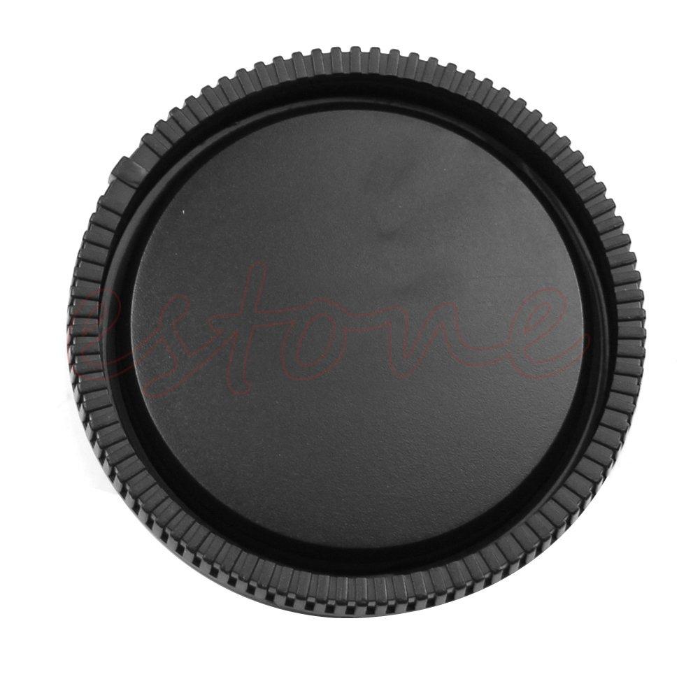 Celan Nero colore Copriobiettivo posteriore per fotocamera Sony E-Mount NEX-3 NEX-5
