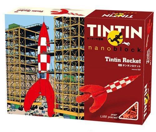 Nanoblock TINTIN Tintin rocket