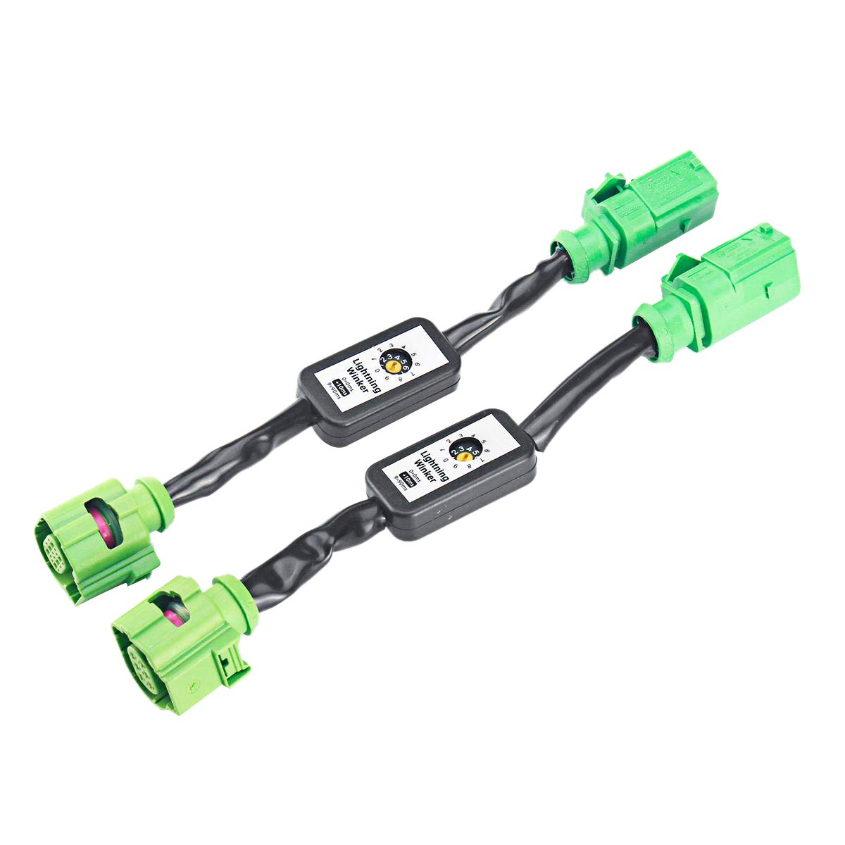 TOOGOO Dynamische Blinker LED R/üCk Licht Zusatz Modul Kabel Baum f/ür A6 S6 Rs6 4G C7 Limousine