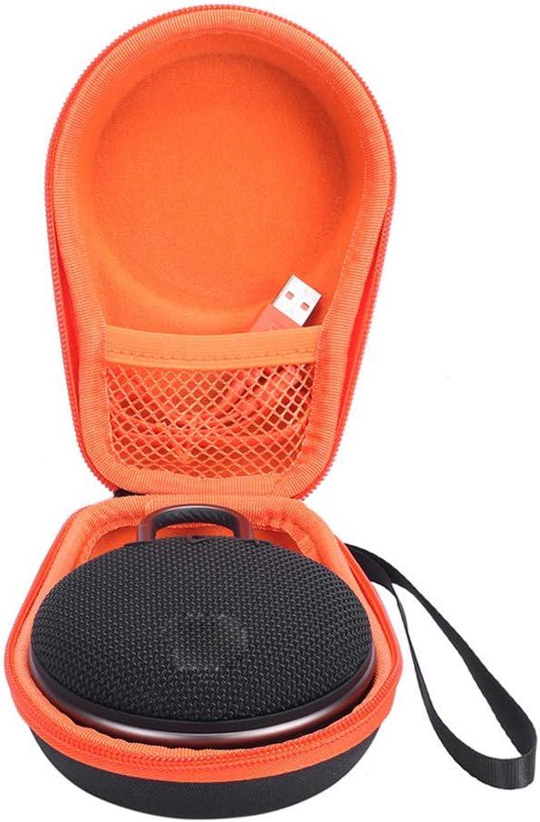 SimpleLife Portable EVA Zipper Hard Case Storage Bag Box For Clip 2 3 Bluetooth Speaker 16cm x 11cm x 6cm
