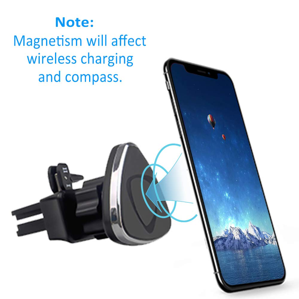 Car Phone Mount LG and More Cell Phones Kolasels Air Vent Magnetic Phone Mount 360 Degree Rotation Car Phone Holder Mount for iPhone 11//Xs//Xr//X//8 Plus//8//7//6 Samsung Note 10+//10//9//8//7 HTC
