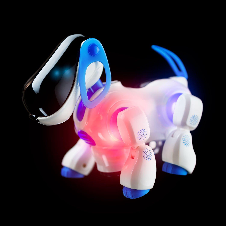 Playtech Logic Electronic Puppy Robot Dog Light Up Girls Boys Toys