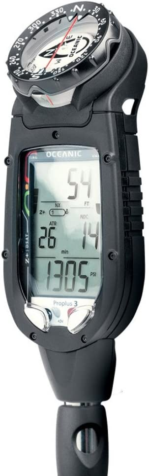 Oceanic Datamax Pro Plus 3.0 Air / Nitrox Integrated Dive Computer With Compass