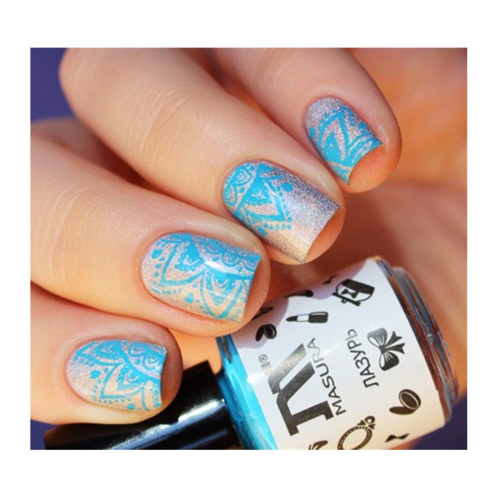 Born Pretty Nagel Schablone Nail Art Stamp Platte 12,5 x 6,5 cm BP ...