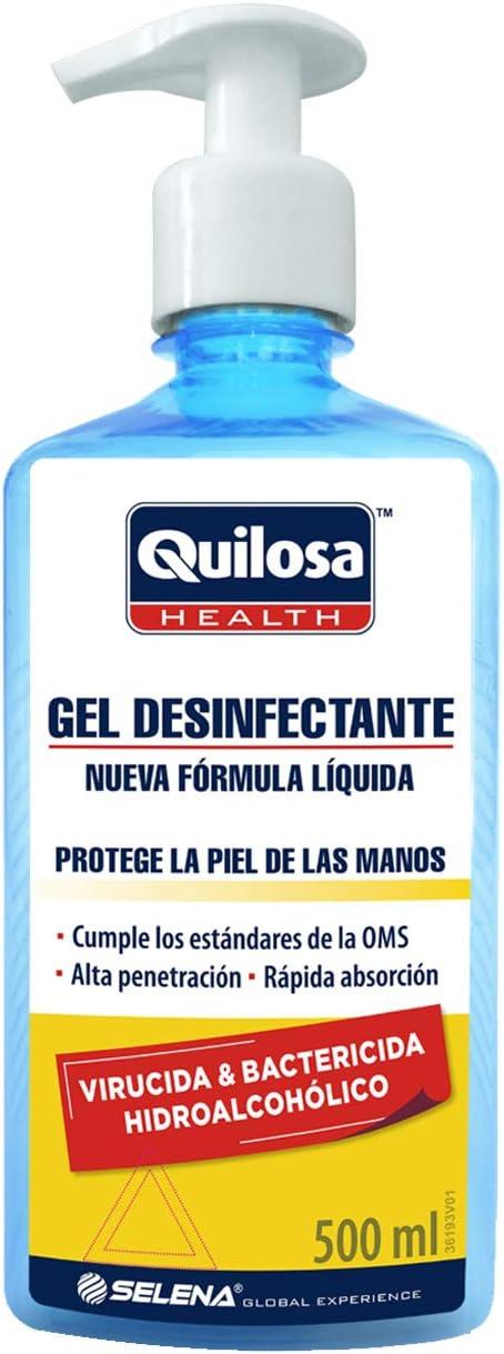 Quilosa Health Gel Desinfectante Hidroalcohólico 500 ml