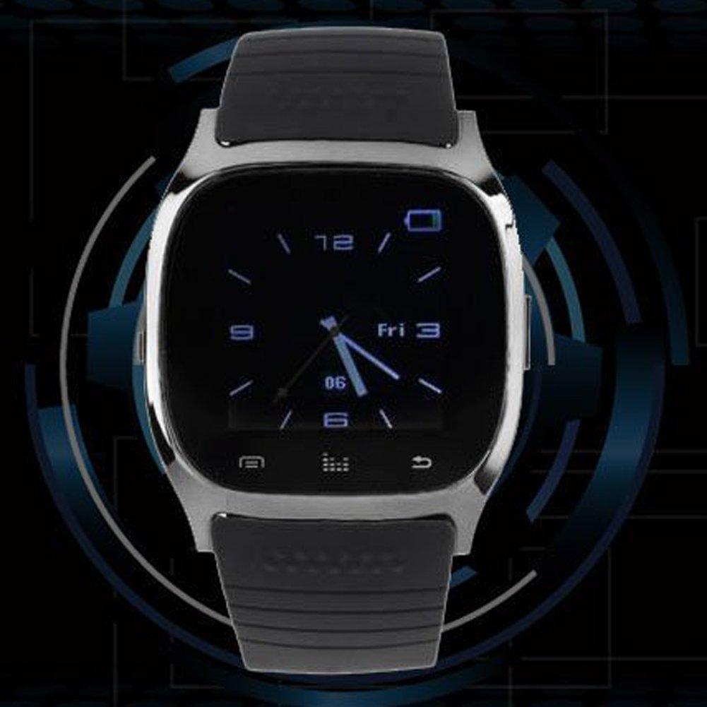 Asiproper M26 - Reloj de pulsera inteligente con Bluetooth ...