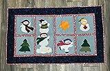 Christmas Snowmen Handmade Classic Tapestry