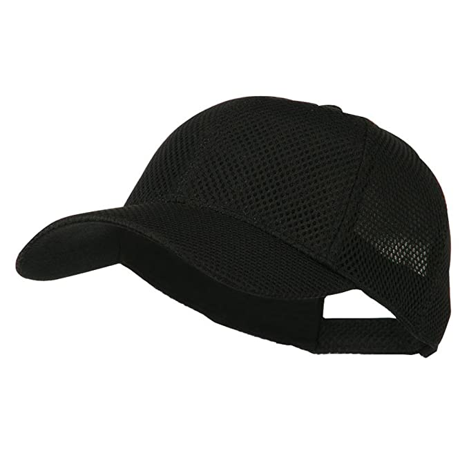 d13453df055 Air Mesh Polyester Cap - Black OSFM at Amazon Men s Clothing store