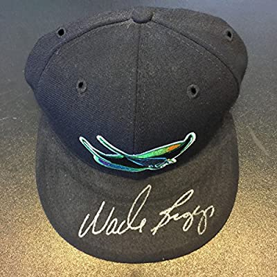 Wade Boggs Signed Autographed Authentic Tampa Bay Rays Hat Cap With JSA COA