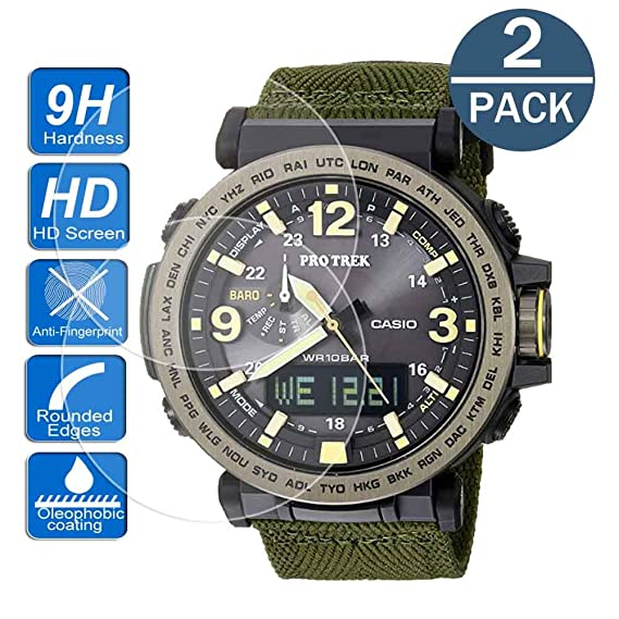 Amazon.com: [2-Pack ] for Casio PRG-600/ PRG-650 Watch ...
