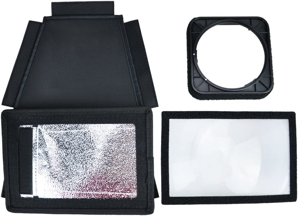 Black JJC FX-C580 Flashgun Output Multiplier for Canon 580EX//580EX II Camera