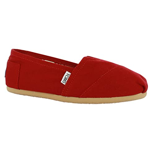 da2eb0c9e65 Toms 2A07 Classic Canvas Espadrille Mens Slipon Shoes Red 10 UK  Amazon.co. uk  Shoes   Bags