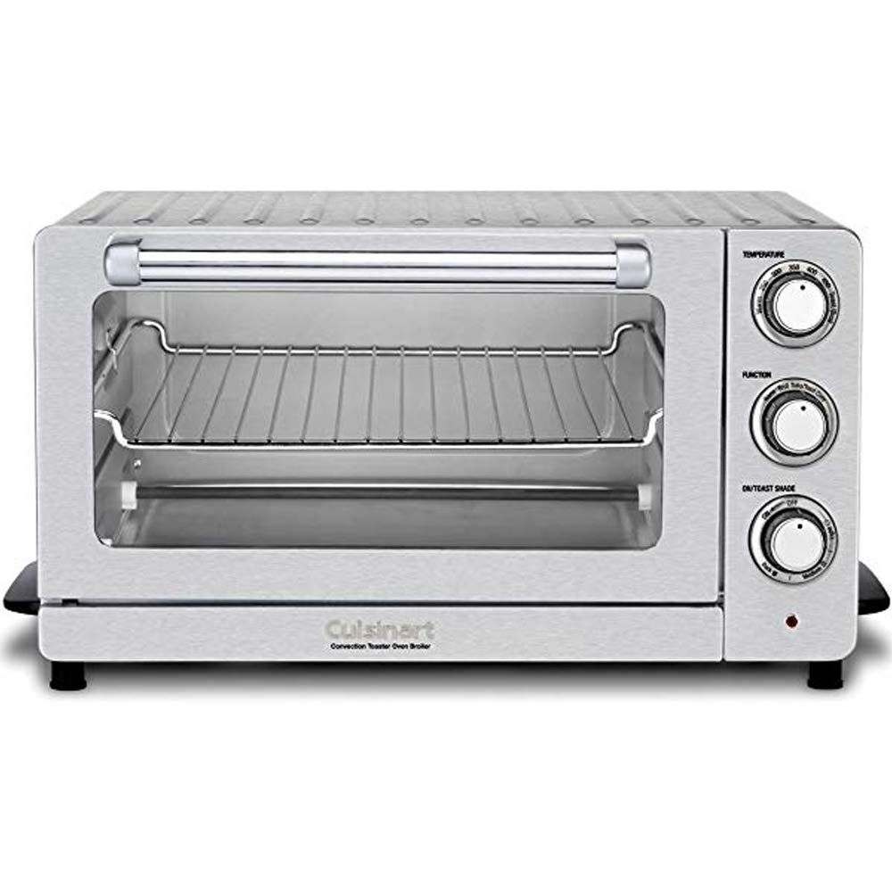 Cuisinart TOB-60NFR Toaster Oven Broiler with Convection , Silver(Renewed) by Cuisinart