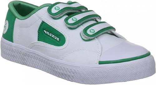 Dunlop Green Flash Unisex Velcro Retro