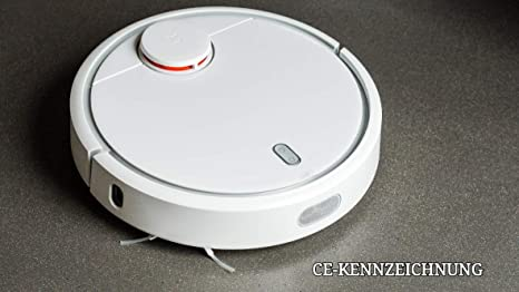 Original XIAOMI MI Robot Vacuum Cleaner Robot aspirador Barredora Blanco LDS 12 sensores 1 año garantía