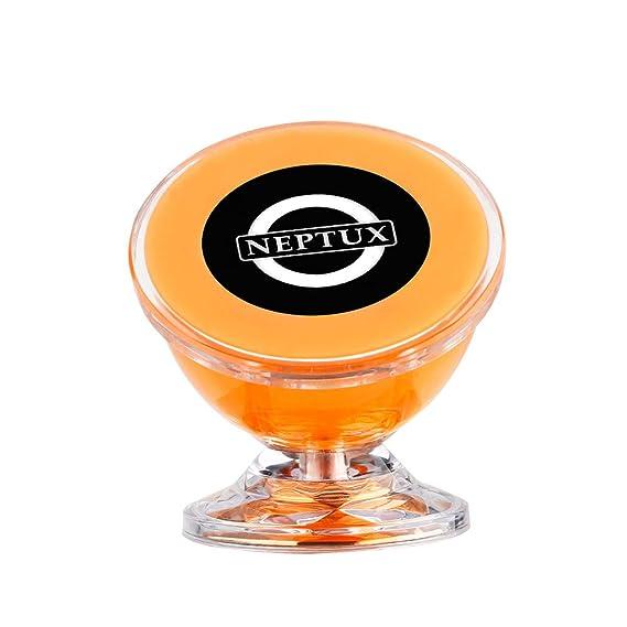 Hongfei Montaje magnético del coche Teléfono y soporte para GPS Rotación de 360 grados desde el tablero para Apple iPhone iPod Samsung Smartphone MP4 ...
