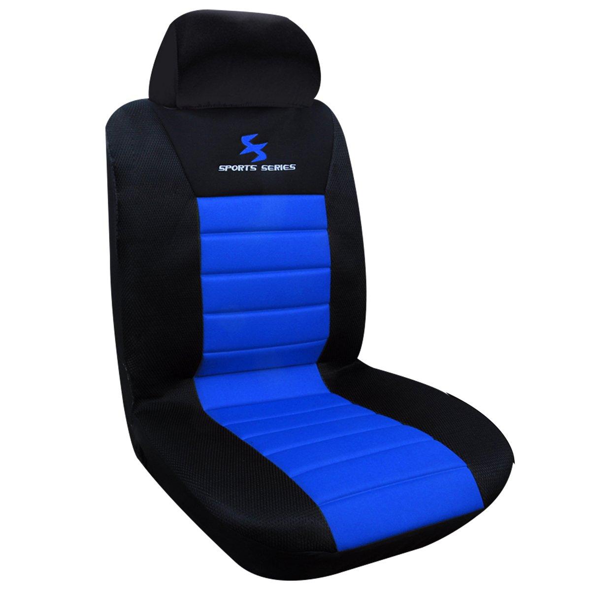 WOLTU AS7256 1er Einzelbezug vordere Sitzbezug fü r Autositz ohne Seitenairbag