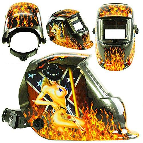 Solar Schweißmaske Schweißhelm Automatik Schweißschirm Schweißschild LYG-8650