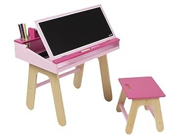 Janod jouet en bois bureau combinaison avec accessoires 60 x 40