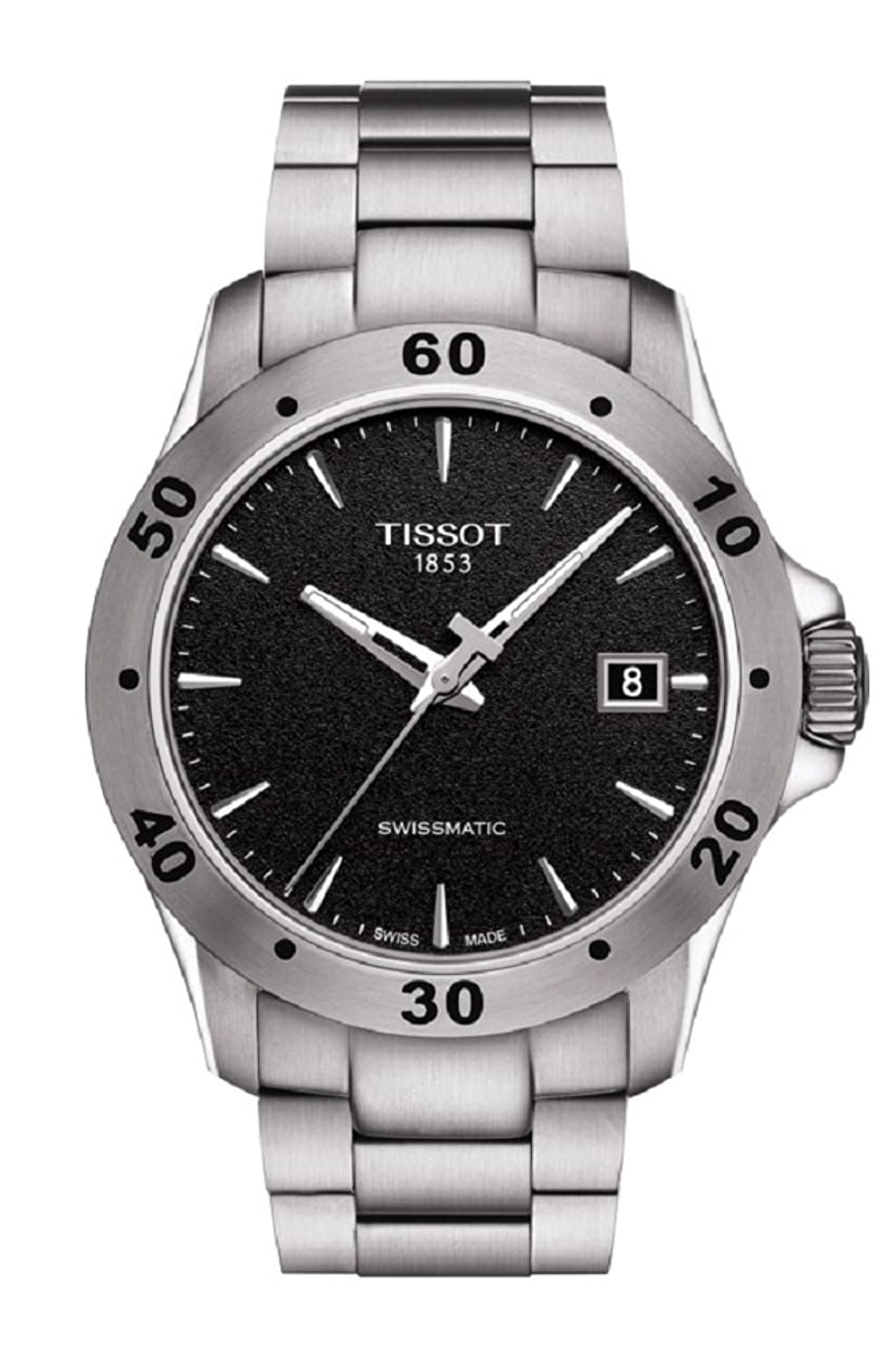 Tissot Men's V8 Swissmatic Stainless Steel Automatic Watch T1064071105100 by Tissot