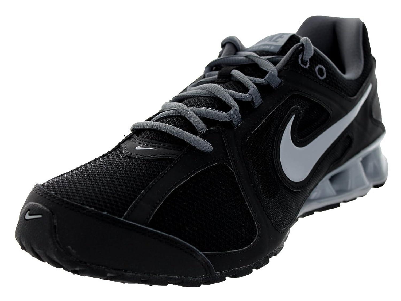 Amazon.com | Nike Men's Reax Run 8 Black/Wolf Grey/Dark Grey Running Shoe 8  Men US | Road Running