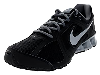 Nike Men's Reax Run 8 Black/Wolf Grey/Dark Grey Running Shoe 8 Men