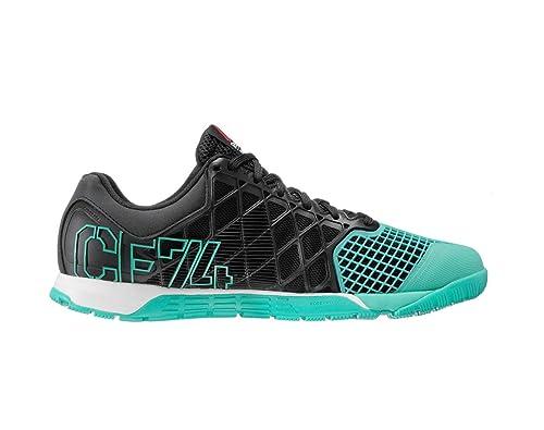 Reebok R Crossfit Nano 4,0 Zapatillas de Entrenamiento tamaño 11,5 Negro/Azul/Tiza: Amazon.es: Zapatos y complementos