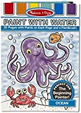 Ocean: Color with Water Only Art Activity Pad + FREE Melissa & Doug Scratch Art Mini-Pad Bundle [31769]