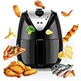 Power Air Fryer XL for Healthy Frying 1400 Watt Black