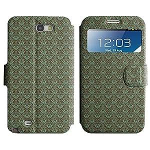 LEOCASE patrón increíble Funda Carcasa Cuero Tapa Case Para Samsung Galaxy Note 2 N7100 No.1002905
