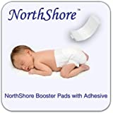 NorthShore Disposable Baby Diaper Doubler w/ Adhesive, Small, Case/90 (3/30s)