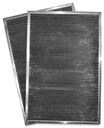 Whirlpool W10386873 Range Hood Replacement Charcoal Filter. 2-Pack