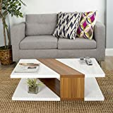 61eYFM EaxL. SL160  Bianca White Lacquer Coffee Table