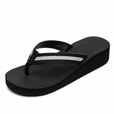 FLYRCX Ladies' pieds tongs fashion loisirs d'été plage piscine plage confortables chaussons.