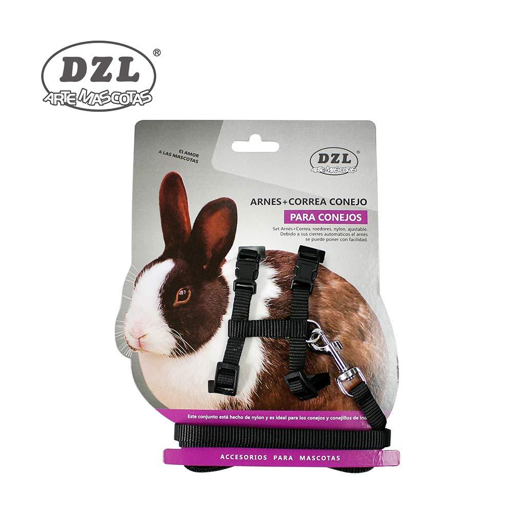 DZL® ARNÉS con Correa para Conejo 1,0-28/38CM (Rojo): Amazon.es ...