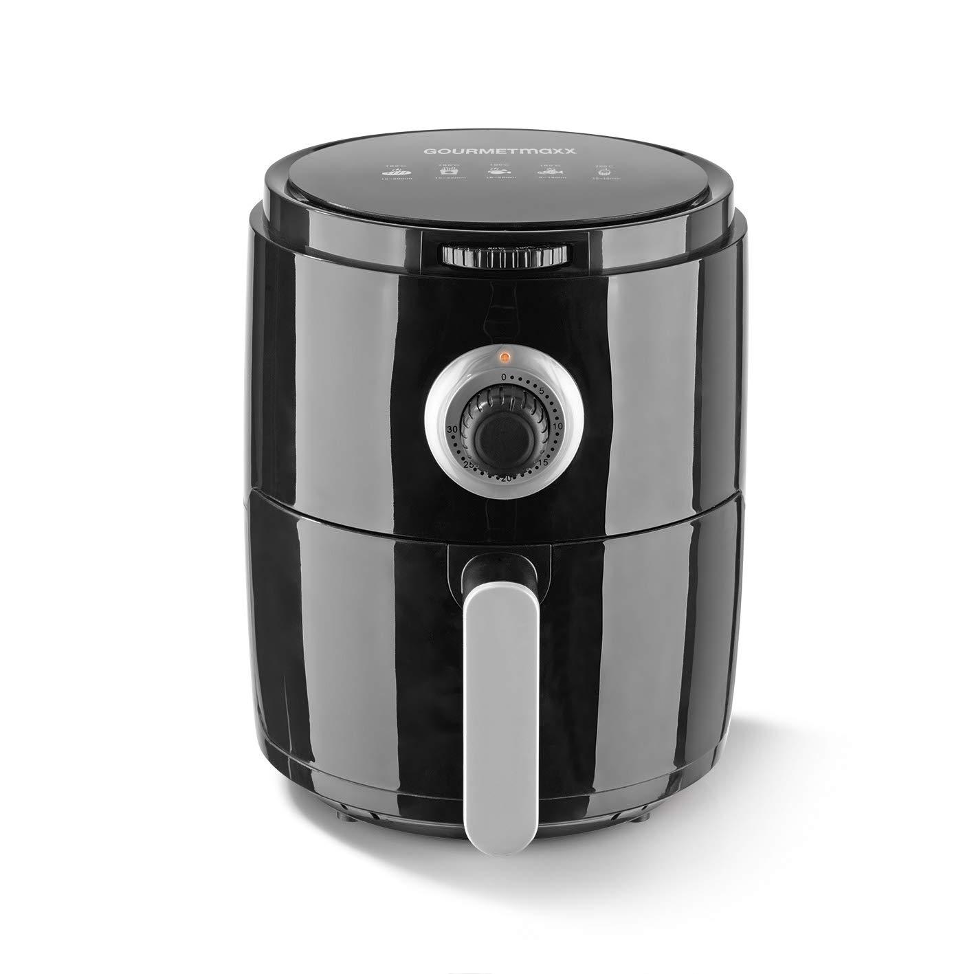 Freidora de aire caliente Gourmet Maxx 8 in1 1500 W color ...