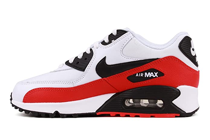 huge discount 5848d d56bc Nike Air Max 90, EU 39 Farbe Rot Schwarz Weiß  Amazon.de  Schuhe    Handtaschen