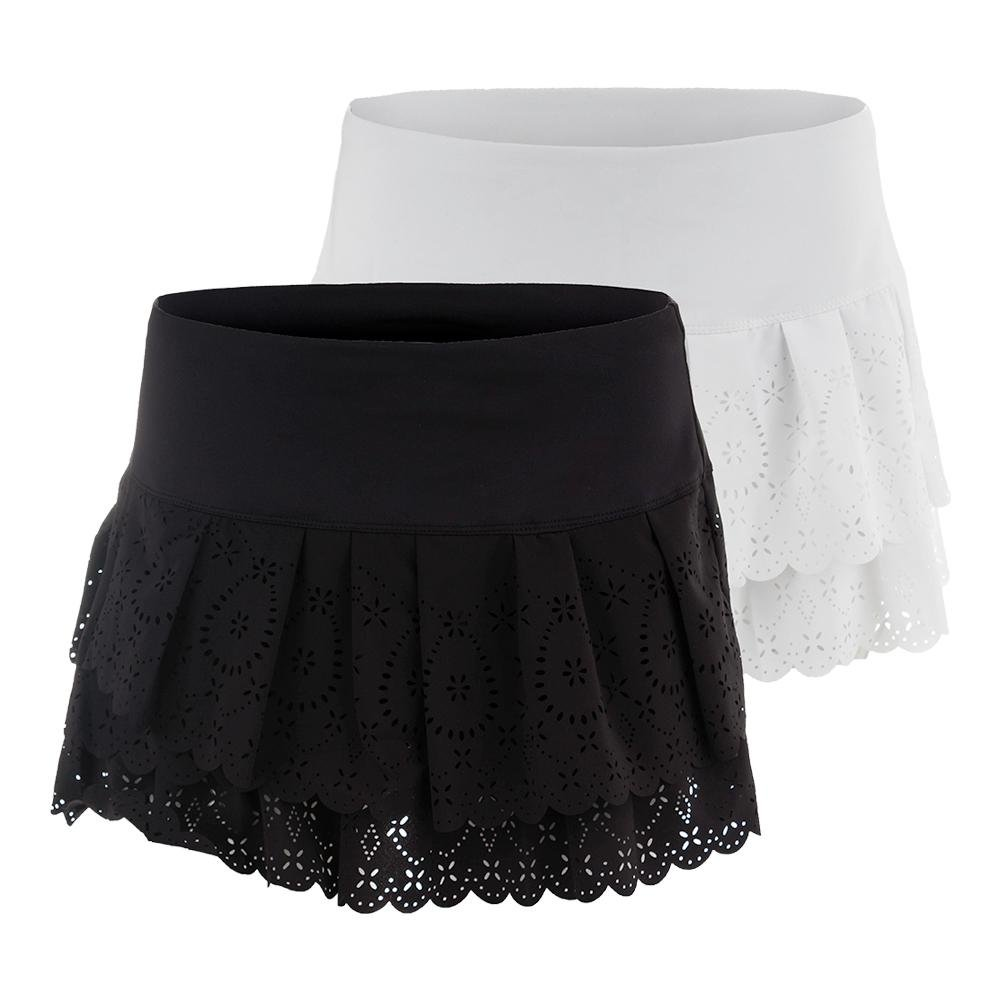 Lucky in Love Laser Pleat Tier Skirt-Medium-White by Lucky In Love (Image #2)
