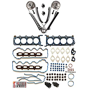 Amazon Com Eccpp Engine Timing Chain Kit Head Gasket Set For 07 08