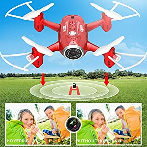 Syma Mini RC Quadcopter Drone X22W HD Wi-Fi Camera Live Video Feed 6-Axis Gyro Quadcopter for Kids & Beginners from DoDoeleph