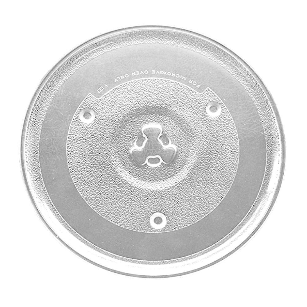 Saffire 10 1/2'' - 27 cm Glass Microwave Plate - Replaces P23 for Emerson Hamilton Beach by Saffire
